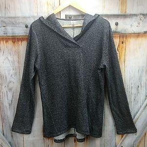 NWOT ST. JOHN'S BAY Hooded Sweatshirt